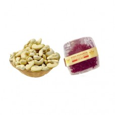 200 gram Cashews  and 1 Gram Diamond Saffron