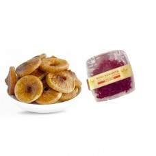 200 gram Kashmiri Figs (Anjeer) and 1 Gram Diamond Saffron