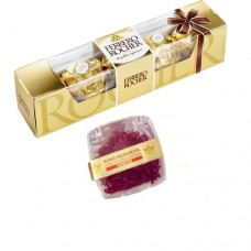 5 Piece Ferrero Rocher & 1 Gram Diamond Saffron