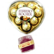 8 Piece Ferrero Rocher & 1 Gram Diamond Saffron