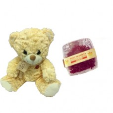 Small Yellow Teddy Bear and 1 Gram Diamond Saffron